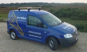 KeyWise work van
