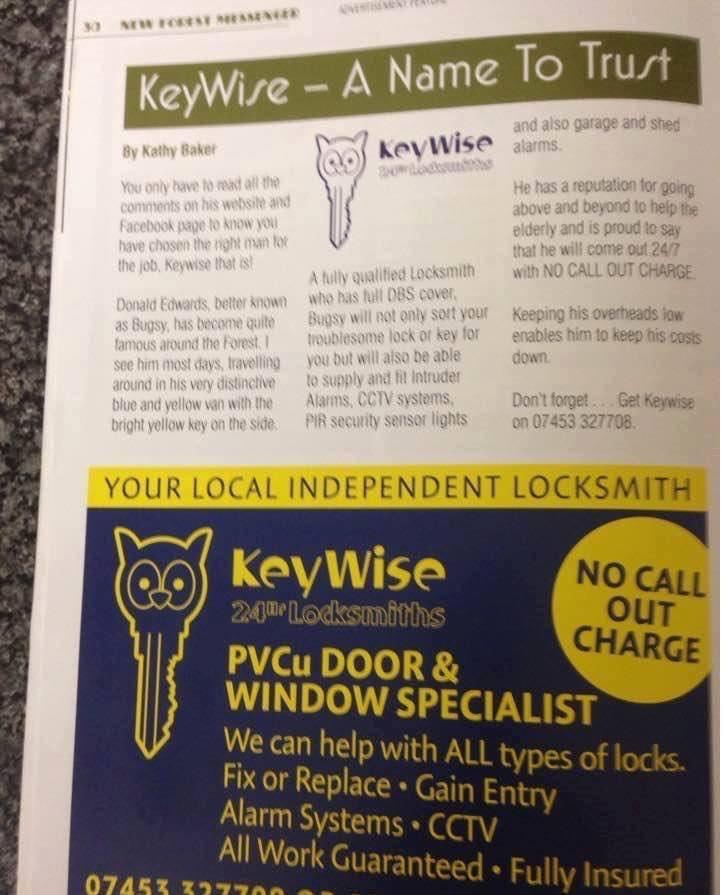Southampton Locksmith advert
