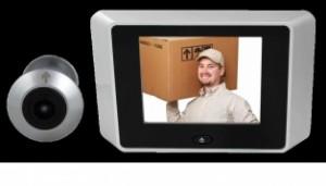 Picture of a digital door viewer